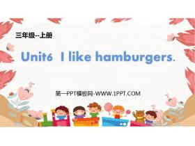 《I like hamburgers》PPT教�W�n件