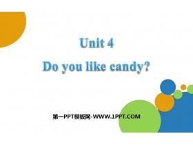 《Do you like candy》PPT教�W�n件