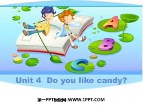 《Do you like candy》PPT精品�n件
