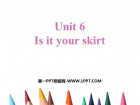 《Is this your skirt》PPT教�W�n件