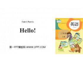 《Hello!》Part A PPT教�W�n件