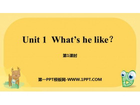 《What's he like?》PPT(第1课时)