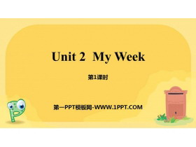 《My week》PPT课件(第1课时)