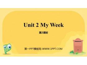 《My week》PPT课件(第2课时)