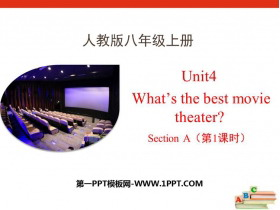 《What's the best movie theater?》SectionA PPT课件(第1课时)