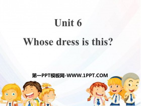 《Whose dress is this?》PPT下�d