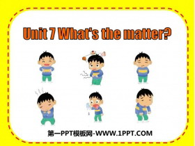 《What's the matter?》PPT教�W�n件