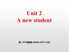 《A new student》PPT�n件