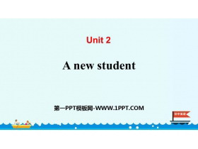 《A new student》PPT下�d