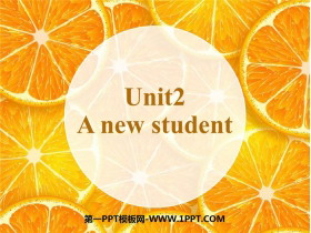 《A new student》PPT�n件下�d
