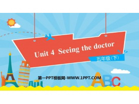 《Seeing the doctor》PPT下�d