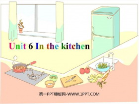 《In the kitchen》PPT�n件