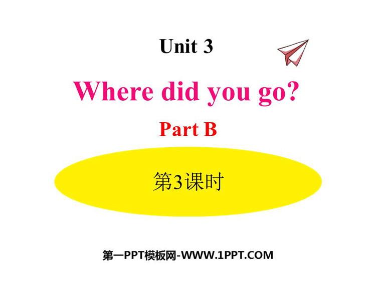 人教版六年级英语下册《Where did you go?》PartB PPT课件(第3课时)