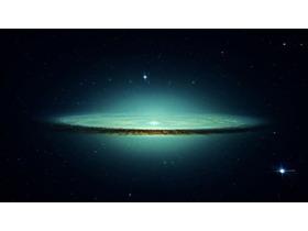 六张星空星球宇宙PPT背景图片