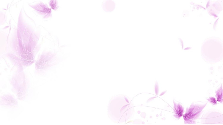 紫色唯美抽象植物花卉PPT背景图片