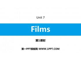 《Films》PPT习题课件(第1课时)