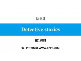 《Detective stories》PPT习题课件(第1课时)