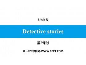 《Detective stories》PPT习题课件(第2课时)