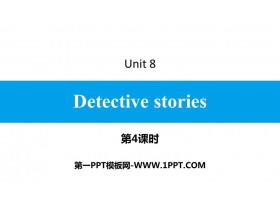 《Detective stories》PPT习题课件(第4课时)