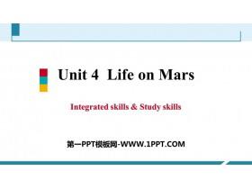 《Life on Mars》Integrated skills&Study skills PPT习题课件