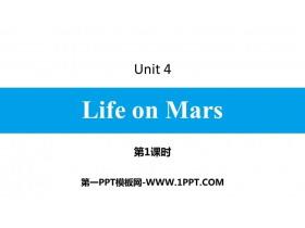 《Life on Mars》PPT��}�n件(第1�n�r)