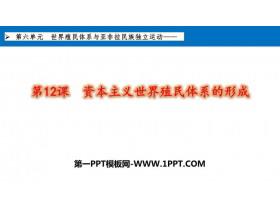 《�Y本主�x世界殖民�w系的形成》PPT教�W�n件