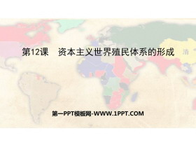 《�Y本主�x世界殖民�w系的形成》PPT精品�n件