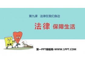 《法律保障生活》PPT精品课件