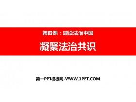 《凝聚法治共识》PPT优质课件