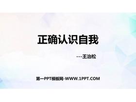 《正�_�J�R自我》PPT班���n件