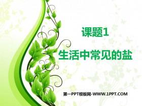 《生活中常�的�}》PPT教�W�n件