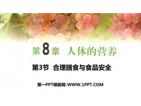 《合理膳食�c食品安全》PPT���|�n件