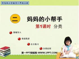 《妈妈的小帮手》PPT教学课件(第1课时)