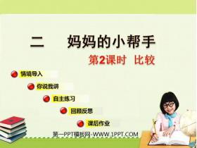 《妈妈的小帮手》PPT教学课件(第2课时)
