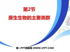 《原生生物的主要类群》PPT课件下载