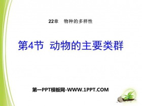 《动物的主要类群》PPT优质课件