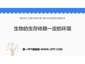 《生物的生存依赖一定的环境》PPT下载