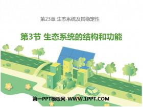 《生态系统的结构和功能》PPT免费课件