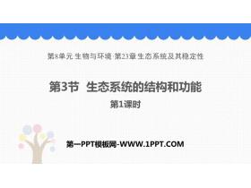 《生态系统的结构和功能》PPT课件(第1课时)