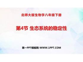 《生态系统的稳定性》PPT优质课件