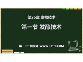 《发酵技术》PPT课件下载