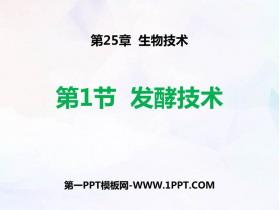 《发酵技术》PPT免费课件
