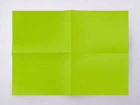 五张简洁彩色纸张PPT背景图片